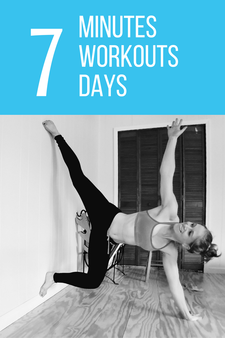 7 Minutes. 7 Workouts. 7 Days.