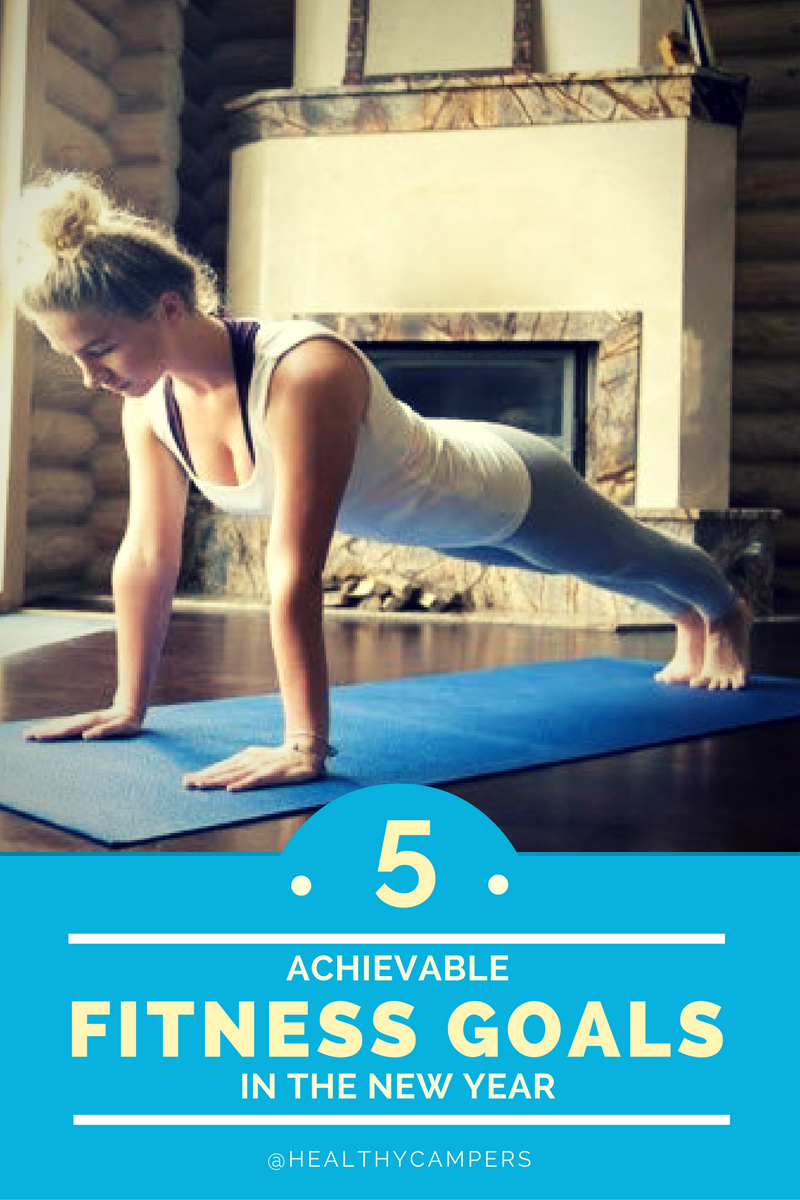 5 Achievable Fitness Goals for the New Year