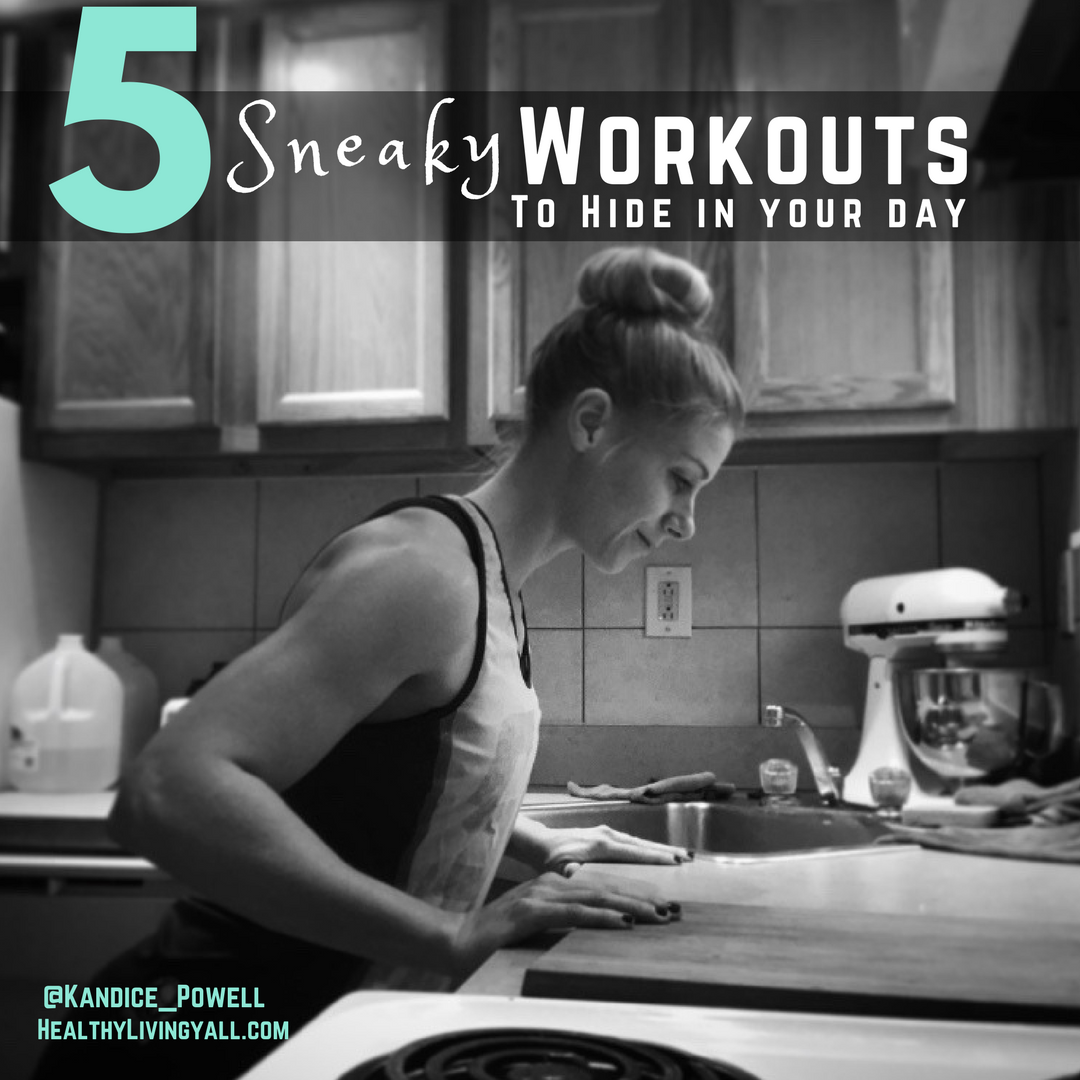5 Workouts to Sneak Into Your Day